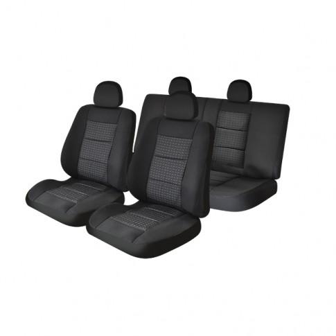 Set huse scaun auto Premium Lux gri, diverse modele