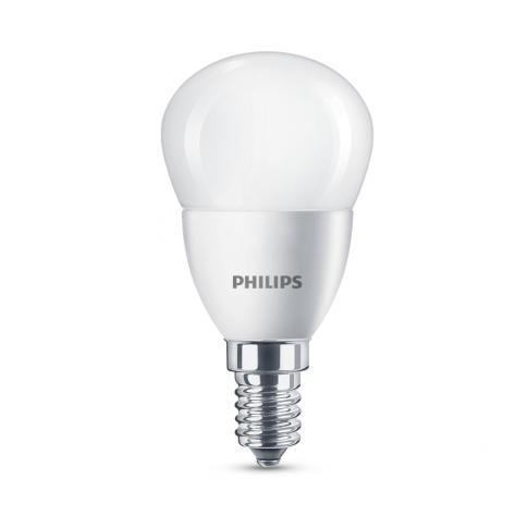 Bec LED Philips Corepro mini P45 E14 5.5W 520lm lumina neutra 4000 K