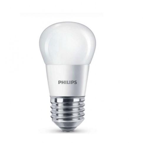 Bec LED Philips mini P45 E27 5.5W 470lm lumina calda 2700 K