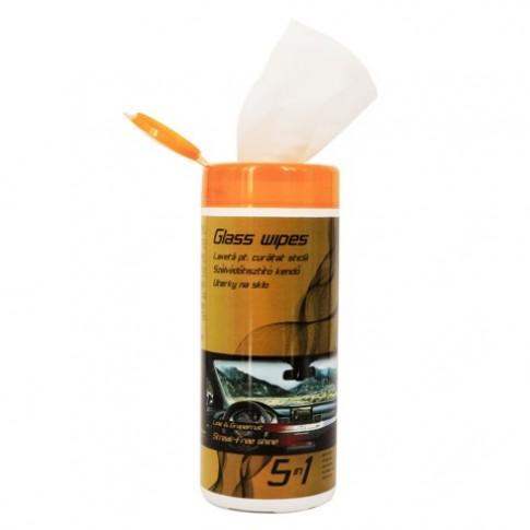Lavete auto umede pentru parbriz, set 40 bucati