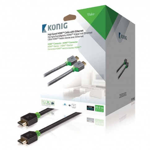 Cablu HDMI mare viteza KNV34000E200, 20 m