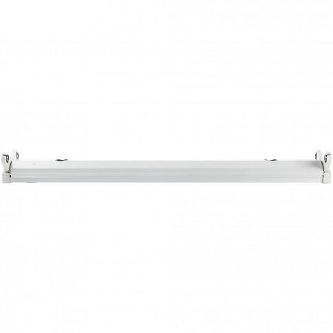 Corp iluminat Fly echipat pentru tub cu LED 2 x 36W