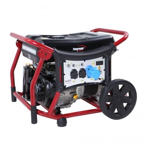 Generator de curent Pramac WX6200ES, monofazic, cu AVR, 5.8 kw, 11.2 CP