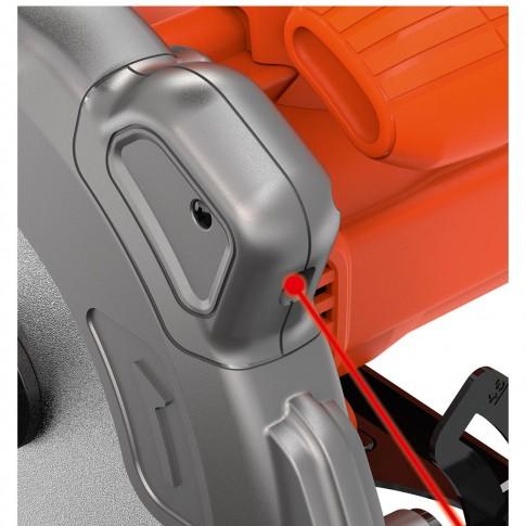 Fierastrau circular cu laser Black&Decker CS1250L, 1250 W