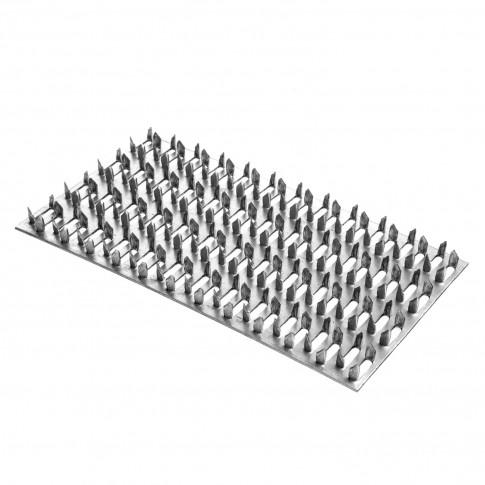 PLaca multicui pentru fixare structuri lemn,  din otel zincat alb, 76 x 127 mm