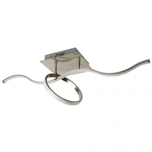 Plafoniera LED Kalinda 67830-18, 18W + RGB, cu telecomanda