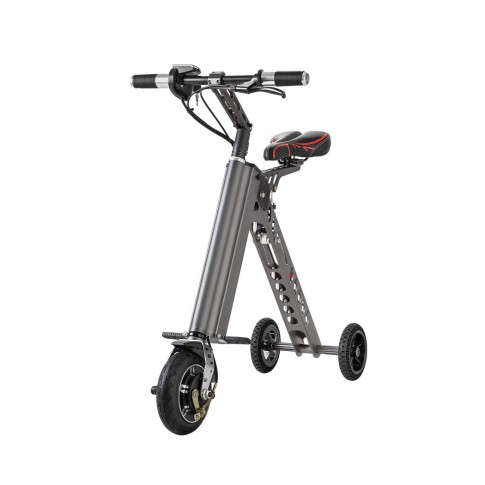 Bicicleta electrica cu 3 roti Tornado ES18 silver