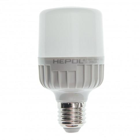 Bec LED Hepol tubular T60 E27 12W 1100lm lumina calda 3000 K
