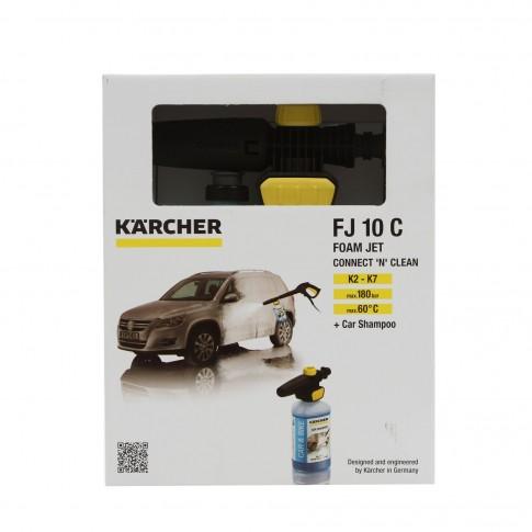 Duza spumare Karcher Connect`n`Clean FJ 10C, 2.643-144.0 + sampon auto 1 litru