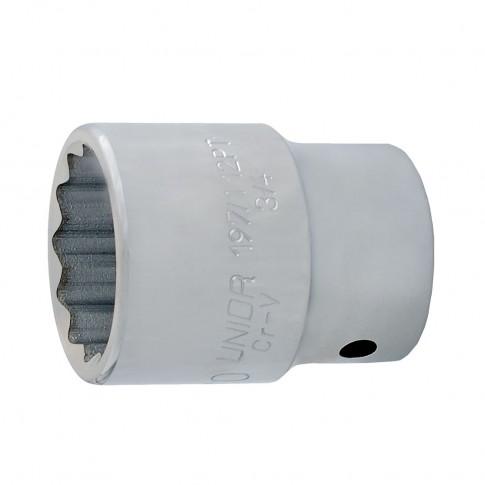 Cap cheie tubulara, Unior 618681, 3/4 inch, 12 laturi