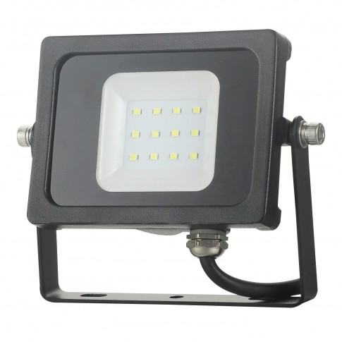 Proiector LED Hoff 10W, lumina rece, IP65