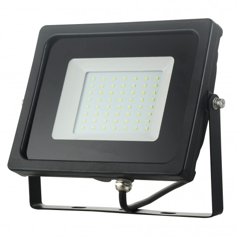 Proiector LED Hoff 50W, lumina rece, IP65