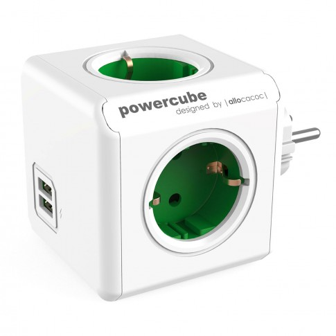 Adaptor PowerCube ORUSB2/BE-ALC, 4 prize + 2 USB