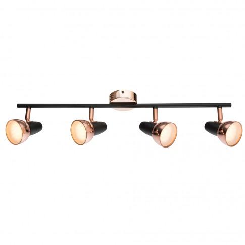 Plafoniera LED Tobi 56117-4, 4 x 4W, lumina calda