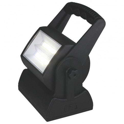 Proiector LED portabil HOFF 2 x 3W, 3 x R20