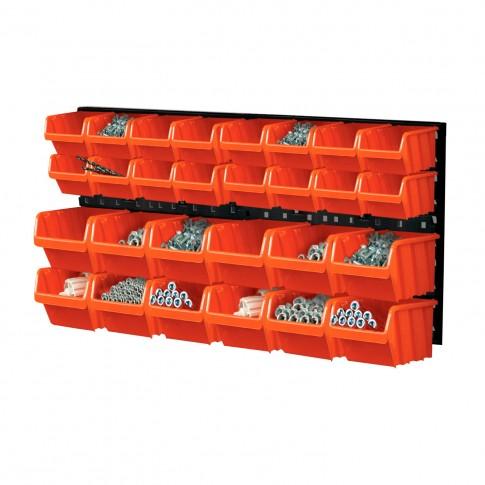 Cutii pentru depozitare, Orderline NTBNP1, set 28 bucati