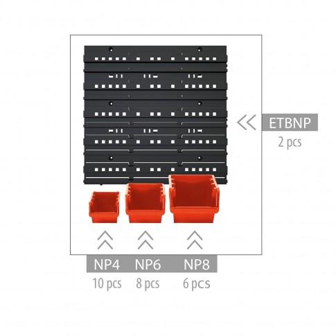 Cutii pentru depozitare, Orderline NTBNP2, set 24 bucati