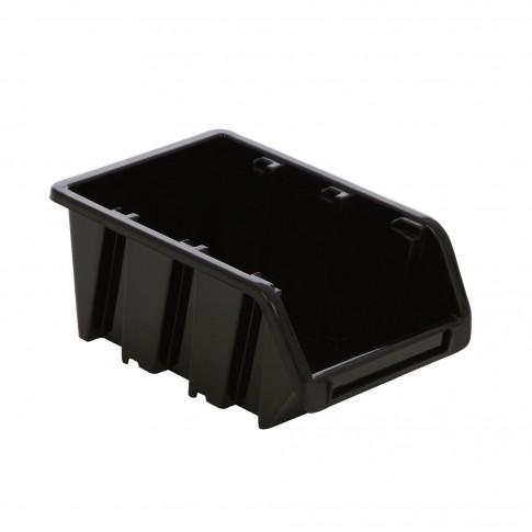 Cutie pentru depozitare, Ecobox NP8-S411, negru, 195 x 120 x 90 mm