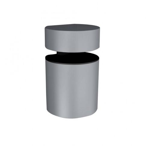 Consola decorativa, din zamac, Basket, argintie, 50 - 71 mm, set 2 bucati