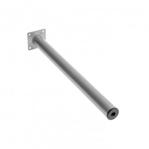 Picior mobila, pentru masa, aluminiu, rotund, 400 mm