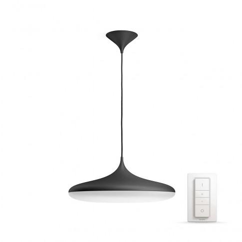 Suspensie LED Hue Cher 4076130P7, 39W, neagra