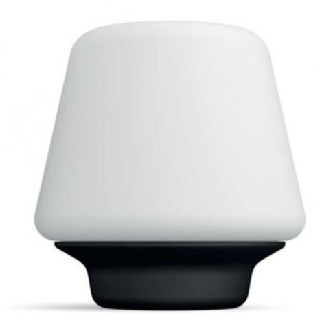 Veioza LED Hue Wellness 4080130P7, 9.5W, 806lm, lumina calda / rece, alb + negru + variator