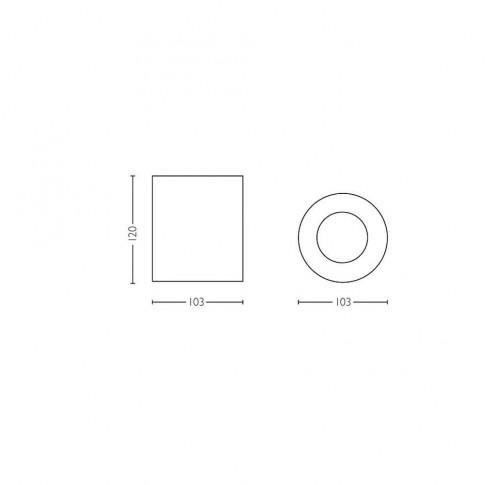 Spot LED Hue Pillar 5633030P7, 1 x GU10, 5.5W, orientabil, negru + intrerupator