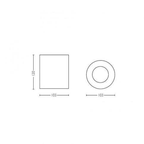Spot LED Hue Pillar 5633031P7, 1 x GU10, 5.5W, lumina calda / rece, orientabil, alb + variator