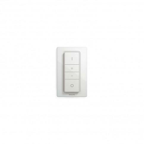 Spot LED Hue Pillar 5633231P7, 2 x GU10, 11 W alb + intrerupator