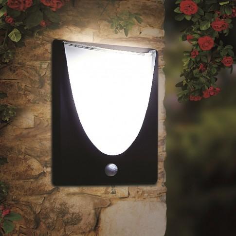 Aplica solara LED Hoff, 2.2W, cu senzor de miscare