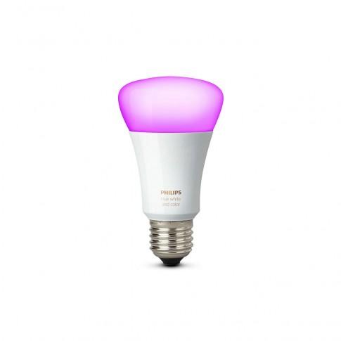 Bec inteligent LED Philips clasic A19 E27 10W lumina calda / rece, dimabil, Wi-Fi
