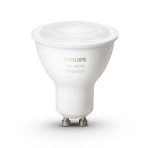 Bec LED Philips Hue Ambiance spot GU10 5.5W lumina calda / rece, dimabil