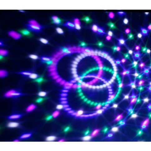 Glob disco LED Hoff Light and Music basic, cu telecomanda