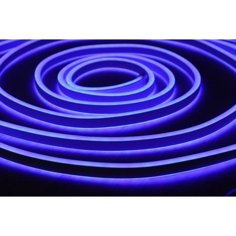 Cablu neon 96 LED / m Hoff albastru interior / exterior 5 m