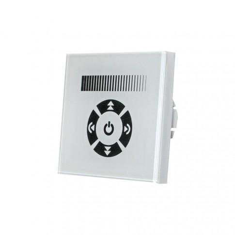 Variator de tensiune touch pentru bec LED Adeleq Lumen 30-32200, 1A / 230W, rama inclusa
