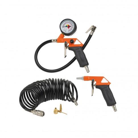Set 6 accesorii pentru compresor, Black&Decker 9045854BND