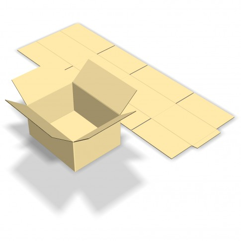 Cutie depozitare, din carton, CTFT-435, 420 x 330 x 210 mm