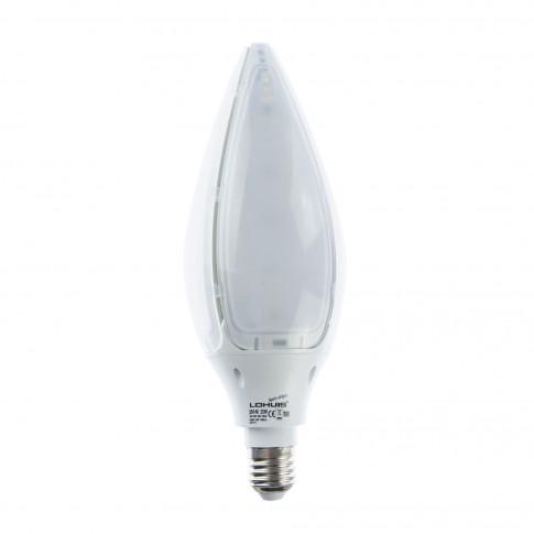 Bec LED Lohuis floare G93 E27 25W 2500lm lumina rece 6500 K