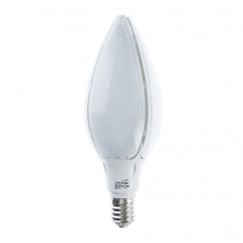 Bec LED Lohuis floare E40 80W 8500lm lumina rece 6500 K