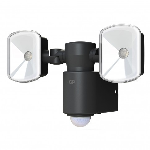 Proiector LED cu baterie si senzor GPSGRF4.1, 2 x 3W, lumina neutra