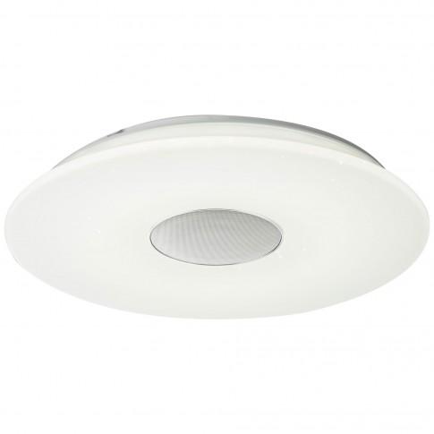 Plafoniera LED Nicole 41329N, 50W (LED) + 7.5W (LED RGB), cu difuzor