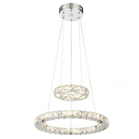 Suspensie LED Marilyn I 67037-24, 24W, cristal