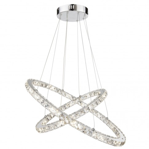 Suspensie LED Marilyn I 67038-48, 48W, cristal