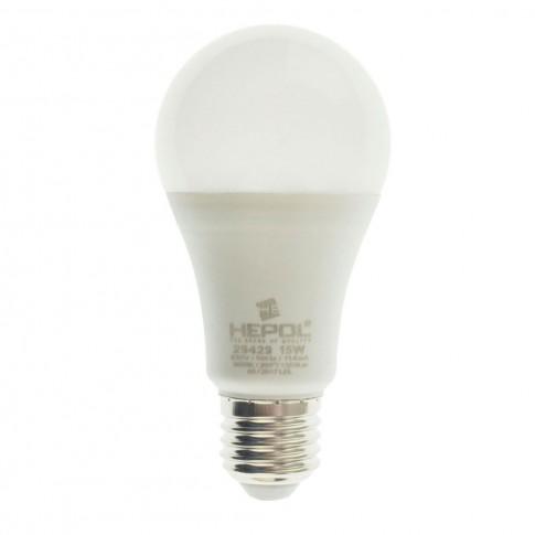 Bec LED Hepol clasic A60 E27 15W 1350lm lumina calda 3000 K