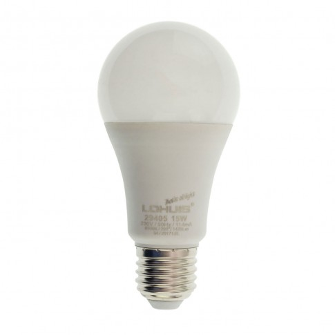 Bec LED Lohuis clasic A60 E27 15W 1425lm lumina rece 6500 K