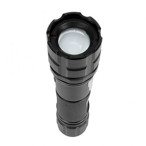 Lanterna LED Pni ADVF10, cu acumulator, 6W, 500 lm, aluminiu, cablu USB