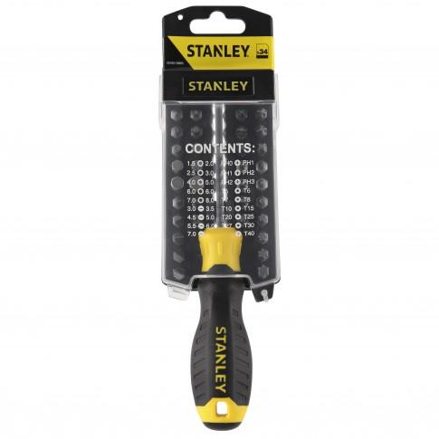Surubelnita Stanley STHTO-70885, cu 33 biti