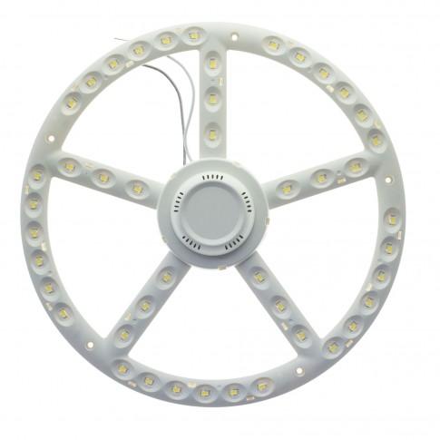 Kit modul LED Lohuis rotund 22W 2200lm + driver 27 cm lumina rece 6500 K