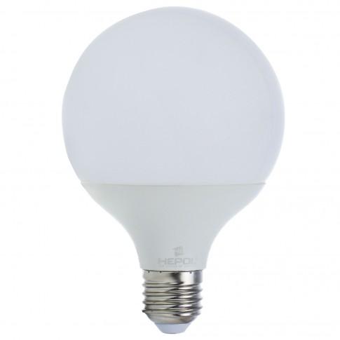Bec LED Hepol Ecoline glob G95 E27 15W 1400lm lumina calda 3000 K