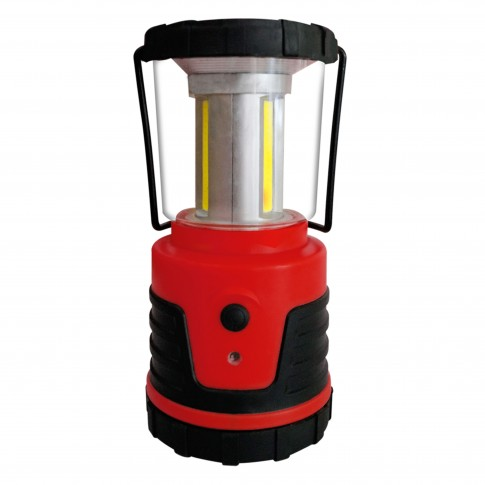 Felinar LED COB Hoff, alimentare baterii (4 x AA), 3 x 3W, 3 moduri de iluminare